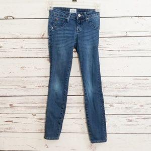 Hudson kids skinny jeans medium wash